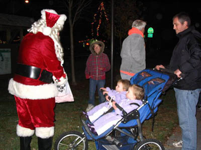 Santa will make his appearance at this year's Willow Creek Art Walk to be held on Sunday, Dec. 5, 2010.