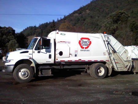 Local owned Tom's Trash is amidst negotiations with Eel River Disposal to continue garbage services in the Willow Creek area. They have reached an agreement that is pending county legal review./TRT file photo.