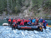 The Warrior Institute sponsored a rafting trip for local tribal youth on the Smith River./Photo by Thomas Dunklin.