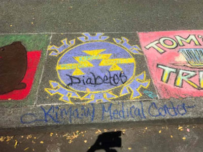 23-23 Chalk it up for books-KMC Diabetes